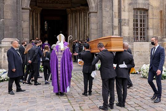 Pohřeb proběhl v kostele Saint-Germain-des-Prés v Paříži.