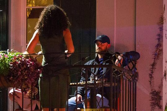 Justin Timberlake nedávno přebral a otlapkával se s kolegyní z připravovaného snímku Palmer.