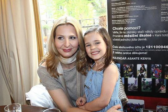 S maminkou v roce 2011
