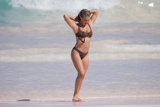 Madison LeCroy si užívá pohodu na Bahamách.