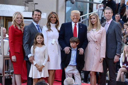 Donald Trump s rodinou
