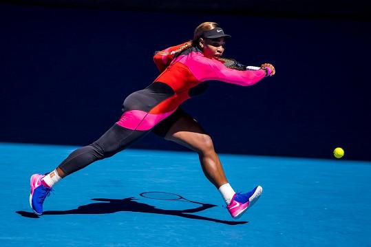 Serena Williams na letošním Australian Open.