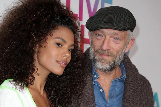 Tina s manželem Vincentem Casselem