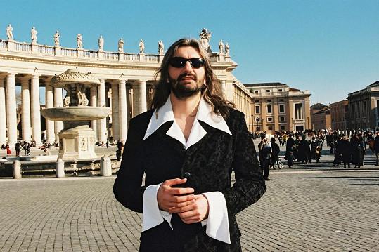 Dan Hůlka v 90. letech.