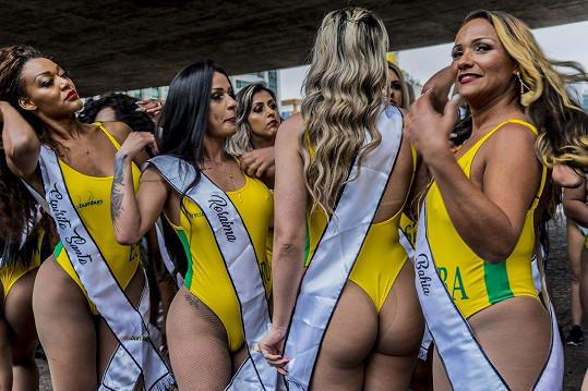 Jedna z nich se stane držitelkou titulu Miss Bumbum Brazil 2018.