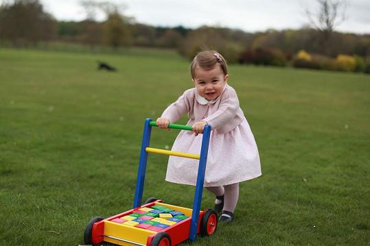 Princezna na královském sídle v Norfolku