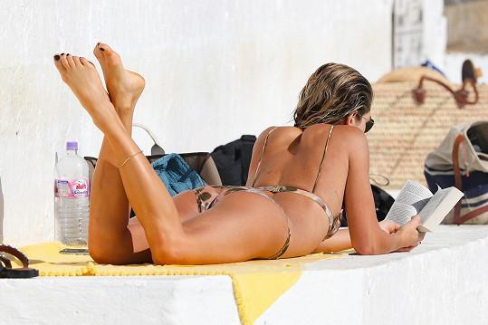 Modelka se na pár dní zdržela v Sydney.