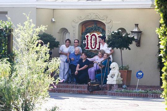 Herec oslavil 101. narozeniny.