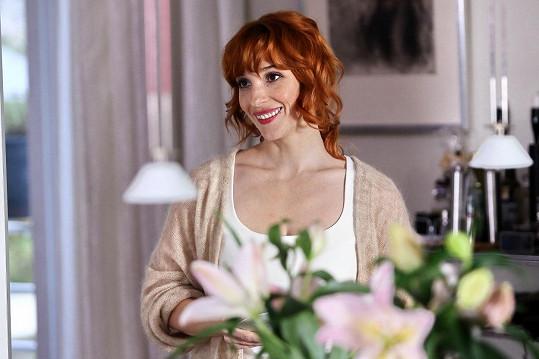 Slovenská herečka předvede v seriálu své půvaby.