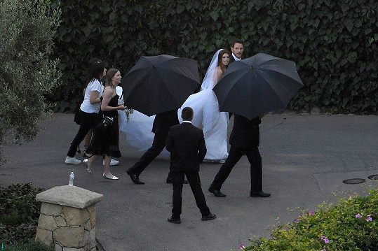 Chris Pratt si v sobotu vzal za ženu dceru Arnolda Schwarzeneggera Katherine.