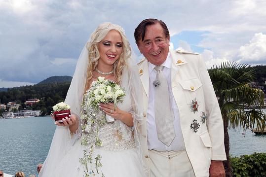 Manželství jim vydrželo jen dva roky.