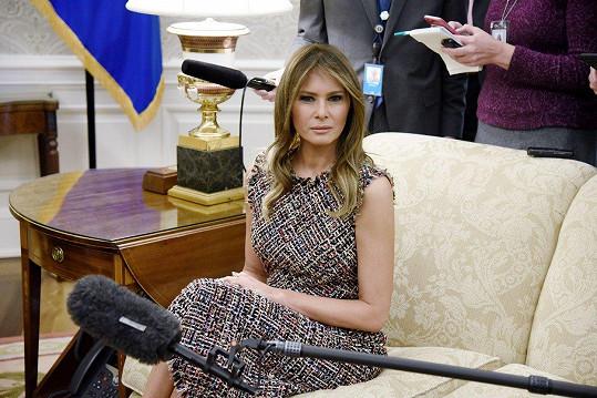 Skutečná první dáma USA Melania Trump