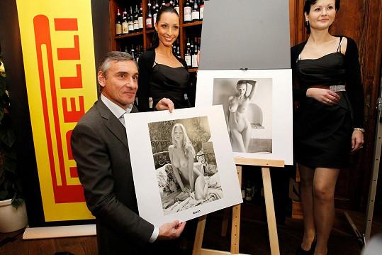 Její křivky v kalendáři Pirelli obdivoval před třemi lety i Jan Čenský.