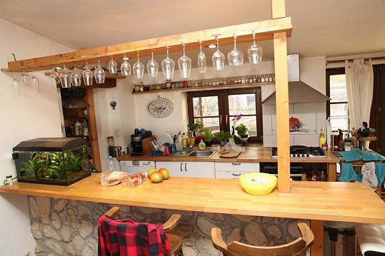 Kuchyně je především Zdeňkovo království.