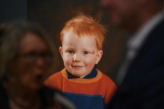 Na výstavě na zpěvákovu počest jsou k vidění i snímky z jeho dětství.