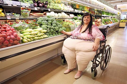 Patty nahradila sladkosti a pizzu zeleninou.