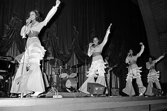Skupina Sister Sledge v 70. letech