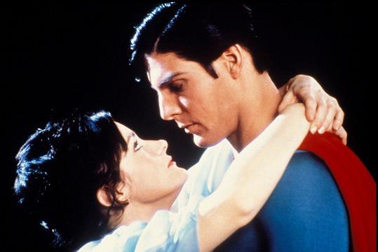 Margot Kidder a Christopher Reeve ve filmu Superman (1978)