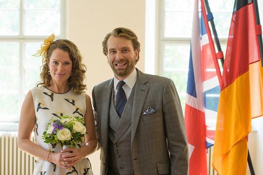 Georg-Constantin s manželkou Olivií Rachelle Page.