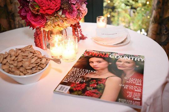 Catherine a Carys na obálce magazínu Town&Country