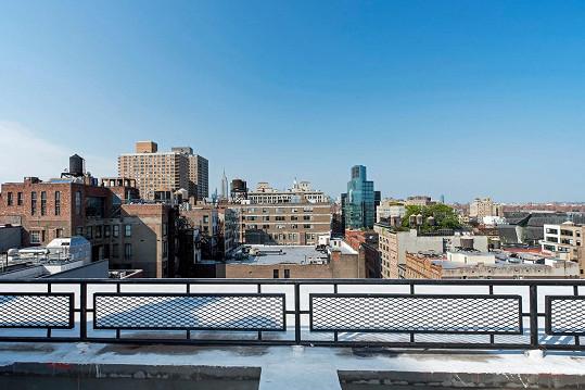 Výhled z 12. patra na město