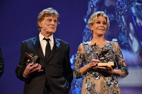Herci v Benátkách obdrželi ceny za celoživotní přínos filmu.