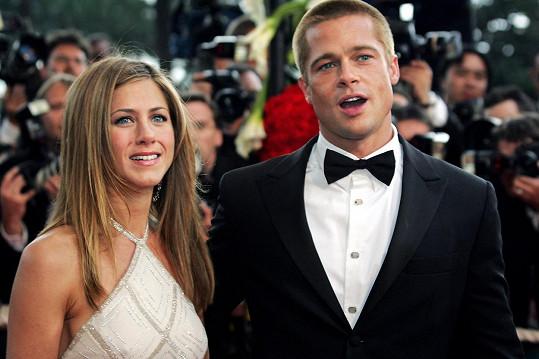 Jennifer a Brad byli manželé pět let.