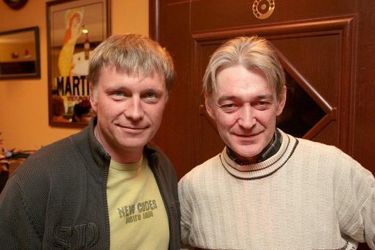 Michal Dlouhý (vlevo) s bratrem Vladimírem Dlouhým