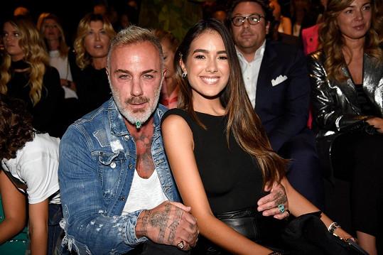 Gianluca Vacchi s partnerkou Sharon