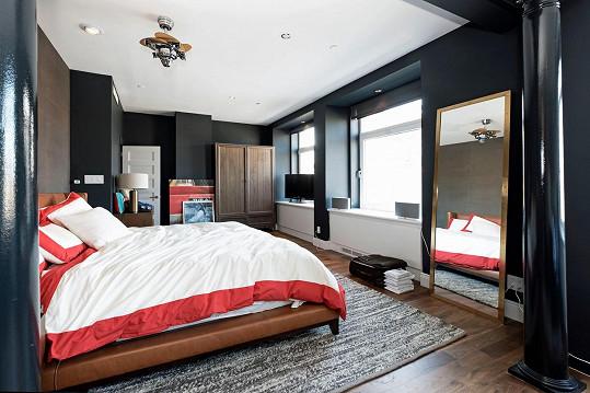 Jedna ze tří ložnic