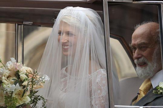 Lady Gabriella Windsor se provdala.