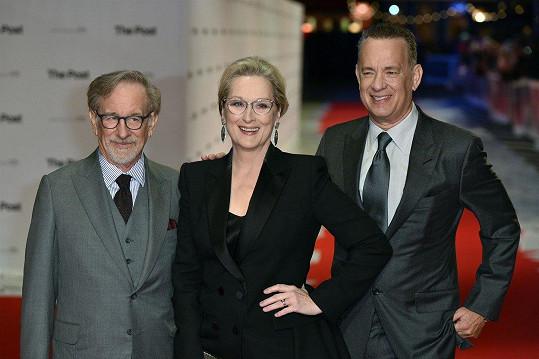 Režisér Steven Spielberg do svého filmu Akta Pentagon: Skrytá válka obsadil Meryl Streep a Toma Hankse.