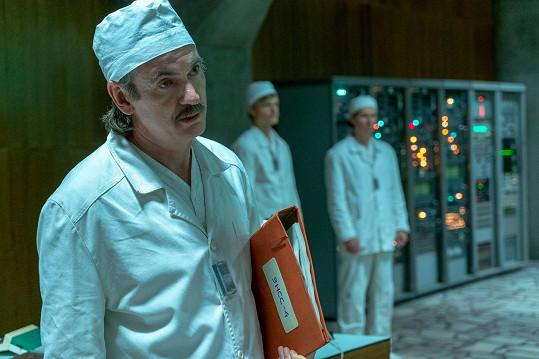 Paul Ritter v seriálu Černobyl