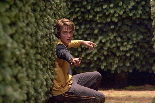 Robert Pattinson jako Cedric ve filmu Harry Potter a Ohnivý pohár (2005)