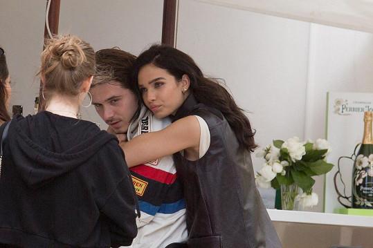 Dříve randila s Brooklynem Beckhamem.