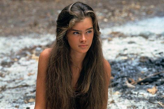 Brooke Shields proslavil film Modrá laguna.