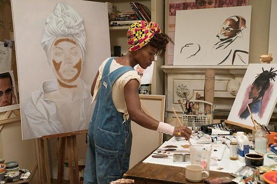 V seriálu hraje hlavní postavu umělkyně neustále hledající sebe samu.