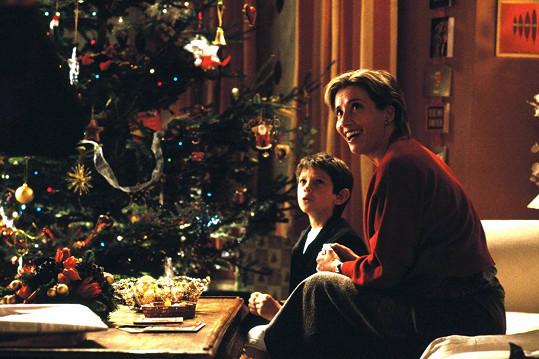 Emma Thompson je jednou z hlavních postav všeobecně oblíbené Lásky nebeské z roku 2003.