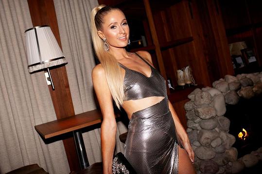 Paris Hilton byla tentokrát hvězdou večera...