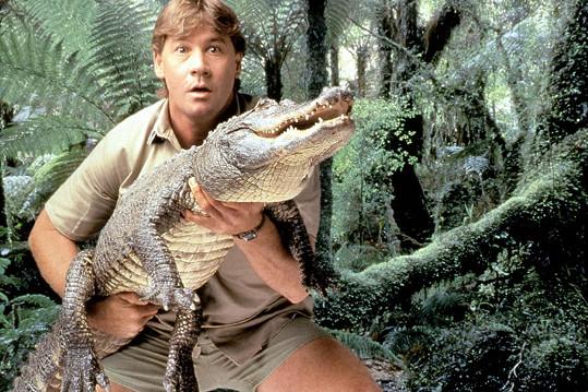 Lovec krokodýlů Steve Irwin zemřel v roce 2006. Při natáčení dokumentu ho uVelkého bariérového útesu zasáhl ostnem do srdce velký rejnok.