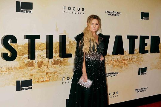 Abigail Breslin se blýskla na premiéře filmu Stillwater.