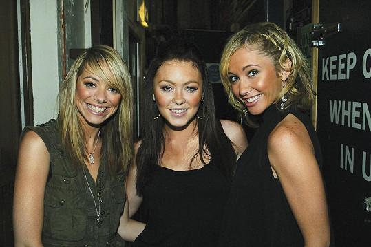 Liz McClarnon, Natasha Hamilton a Jenny Frost na archivním snímku z roku 2002