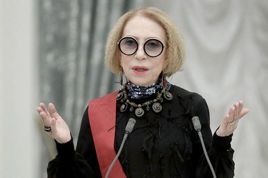 Poznáváte představitelku Marfuši? V říjnu oslavila 75. narozeniny.