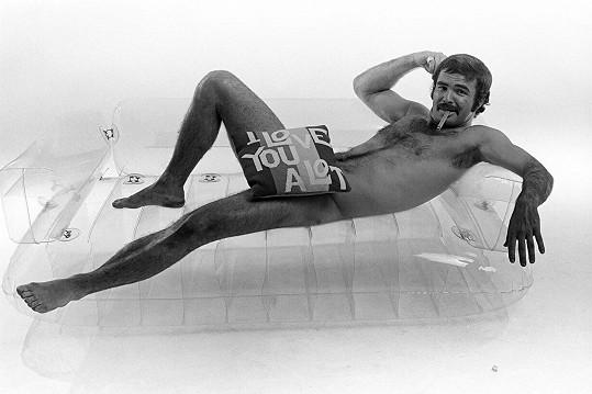 Burt Reynolds v roce 1972