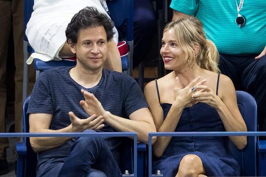 Sienna a Bennett na finále US Open