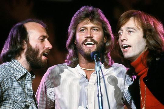 Legendární skupina Bee Gees