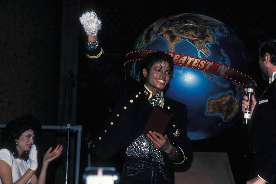 Michael Jackson v muzeu přírodních věd v New Yorku (1984)