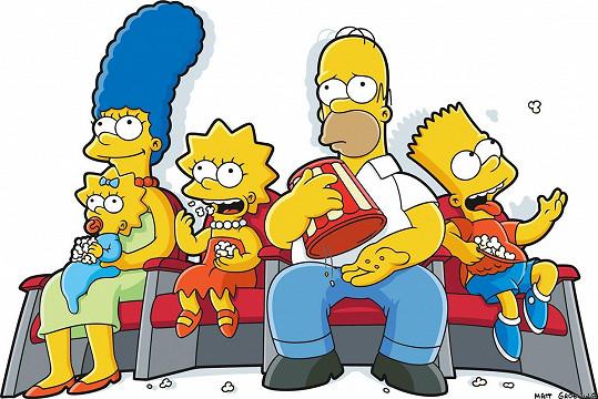 Nekonečný seriál Simpsonovi na popularitě rozhodně neztrácí.