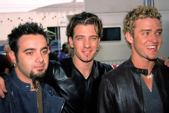Chris Kirkpatrick, J.C. Chasez a Justin Timberlake