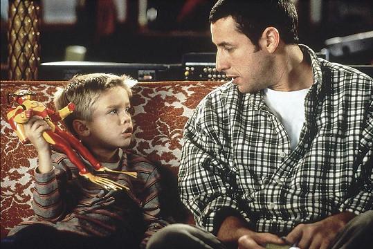 Zahráli si společně ve filmu Velký táta.